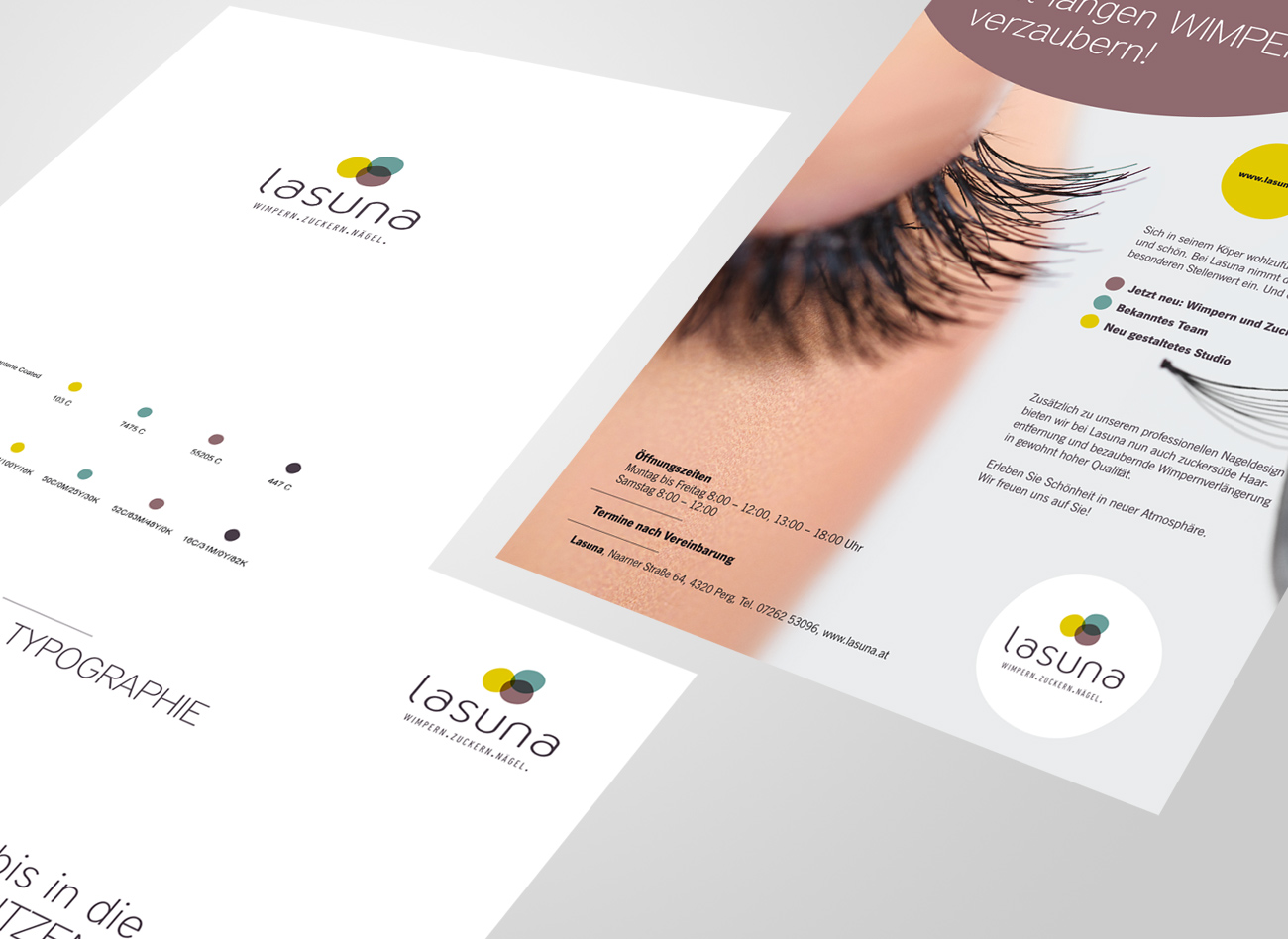 Corporate Design  / Lasuna Kosmetik