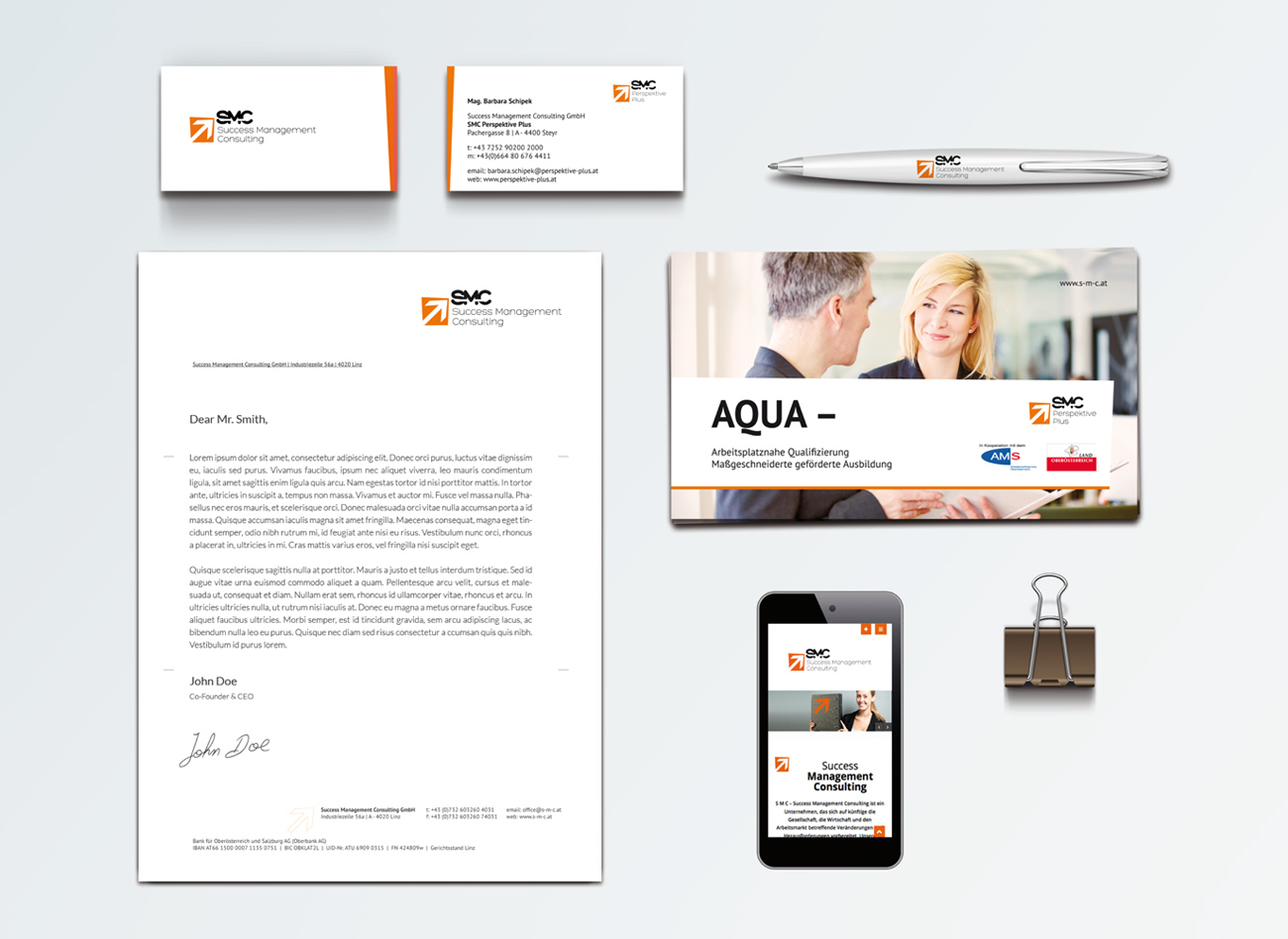 Corporate Design  / SMC Success Management Consulting GmbH