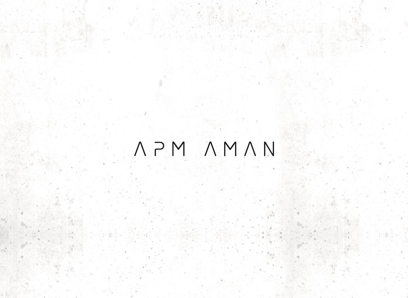 Logogestaltung / APM AMAN