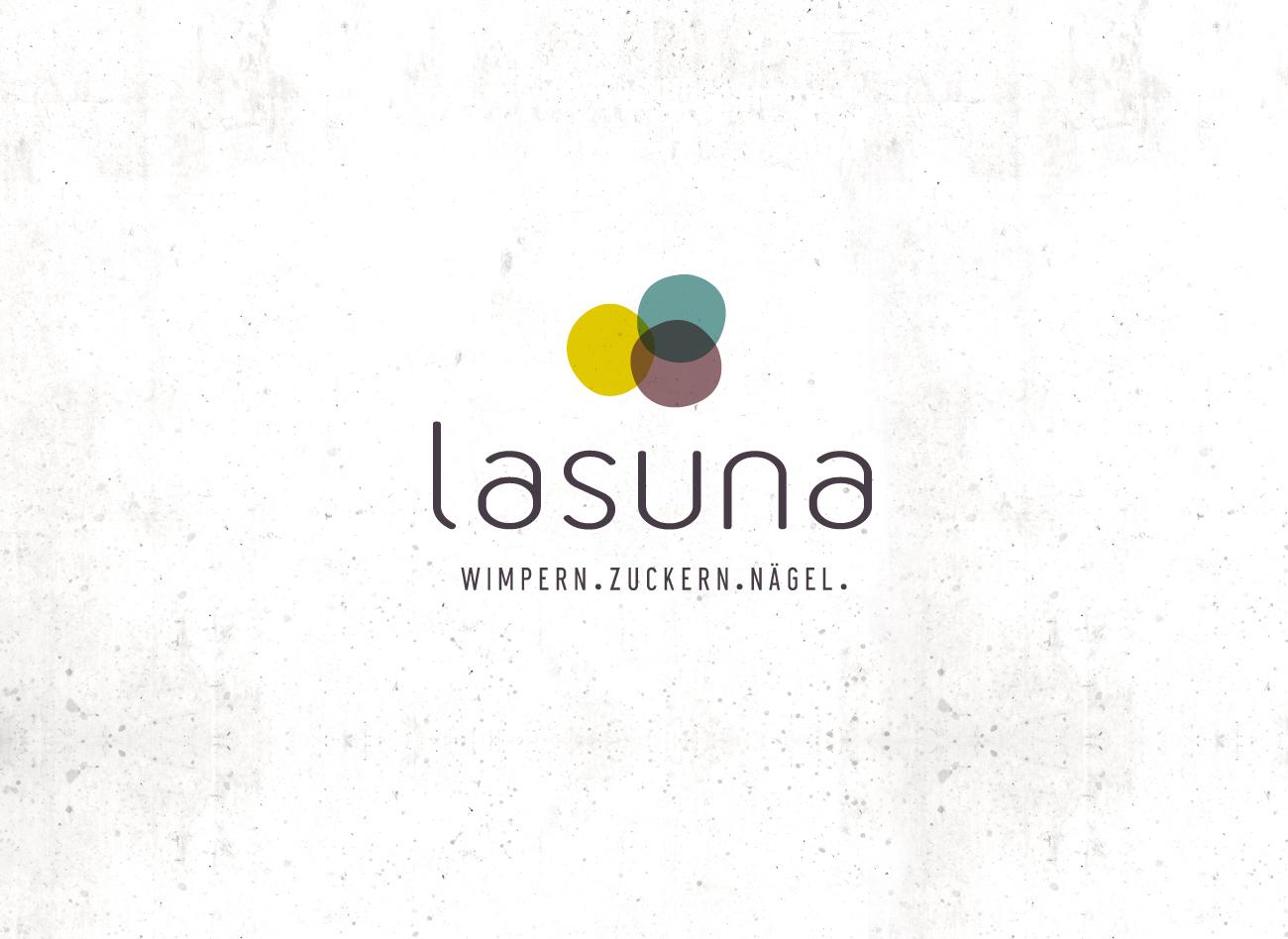 Logogestaltung / Lasuna