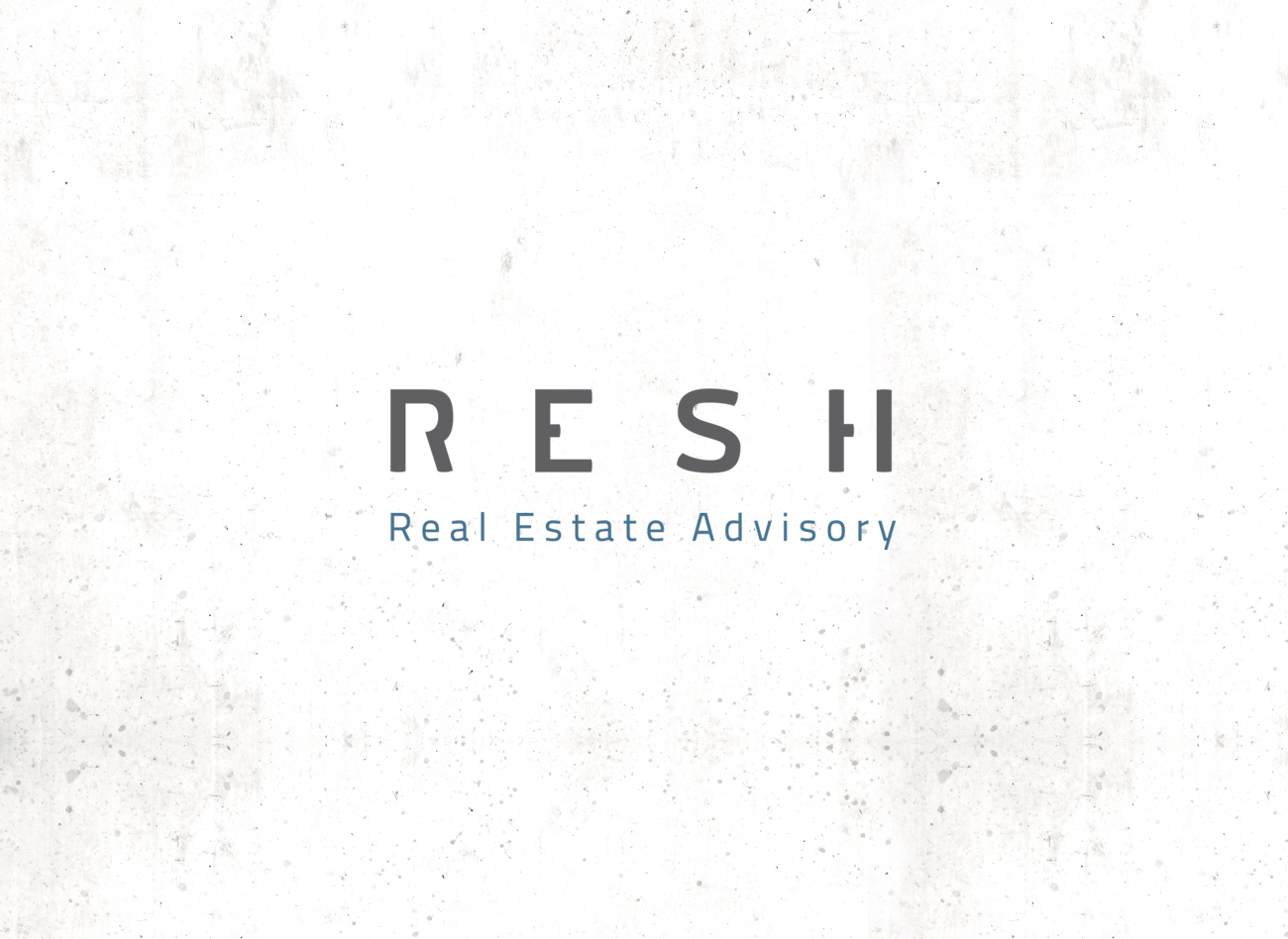 Logogestaltung / RESH Real Estate Advisory
