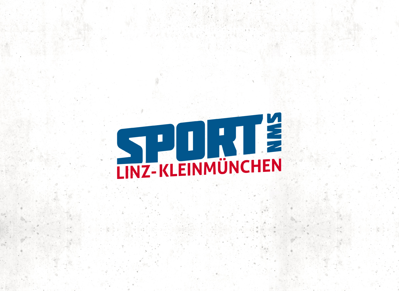 Logogestaltung / Sport NMS Linz-Kleinmünchen