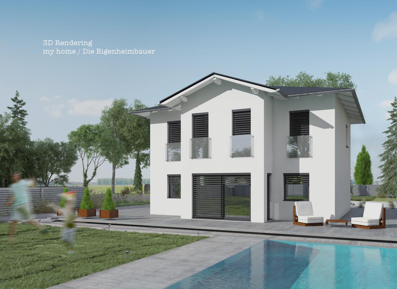 3D Rendering für my home / Die Eigenheimbauer