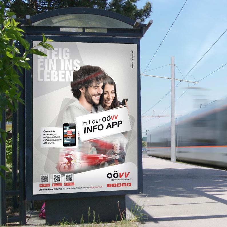 OÖ Verkehrsverbund / Kampagne Steig ein ins Leben.