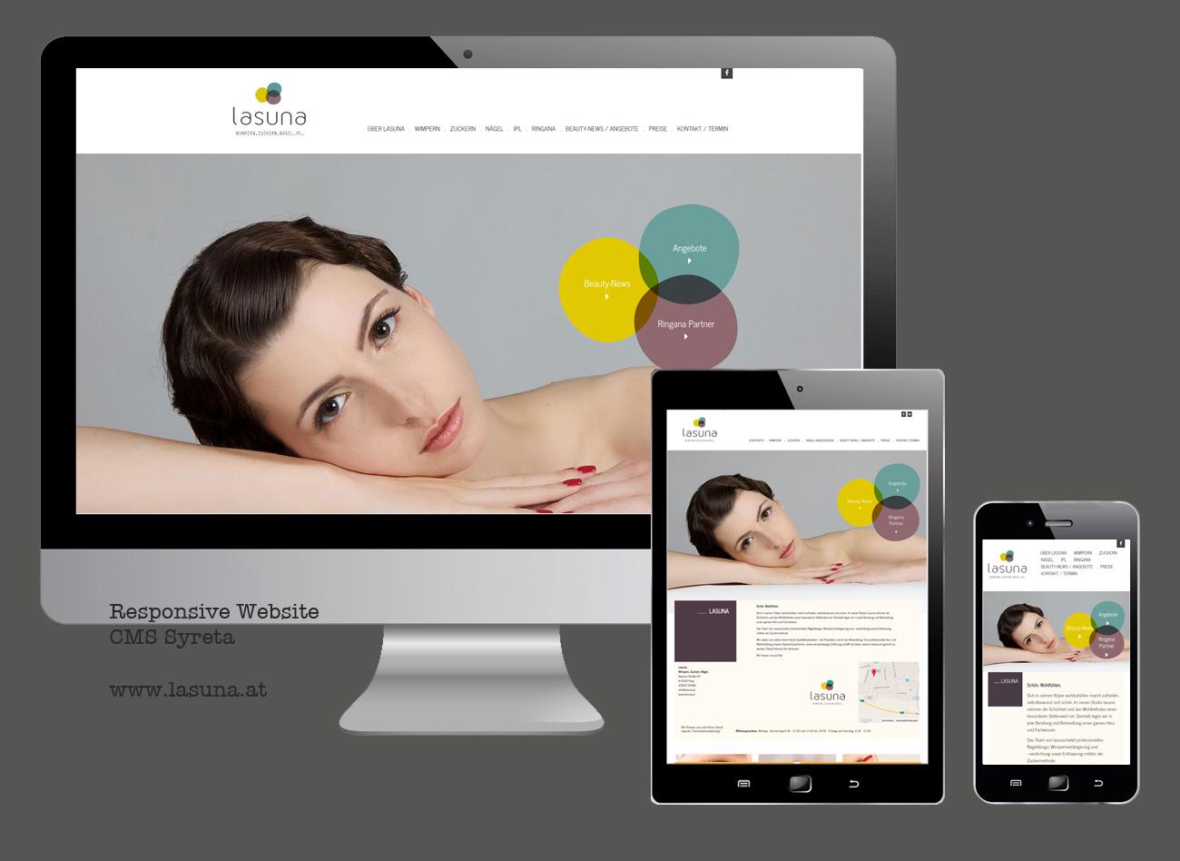 Responsive Website Lasuna