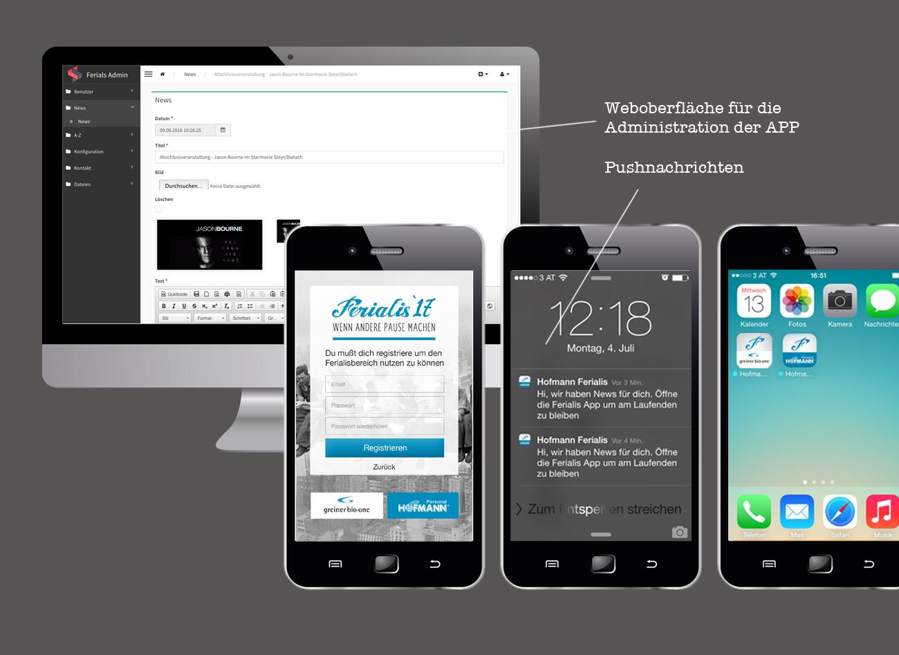 App Entwicklung für 2 internationale Großkonzerne