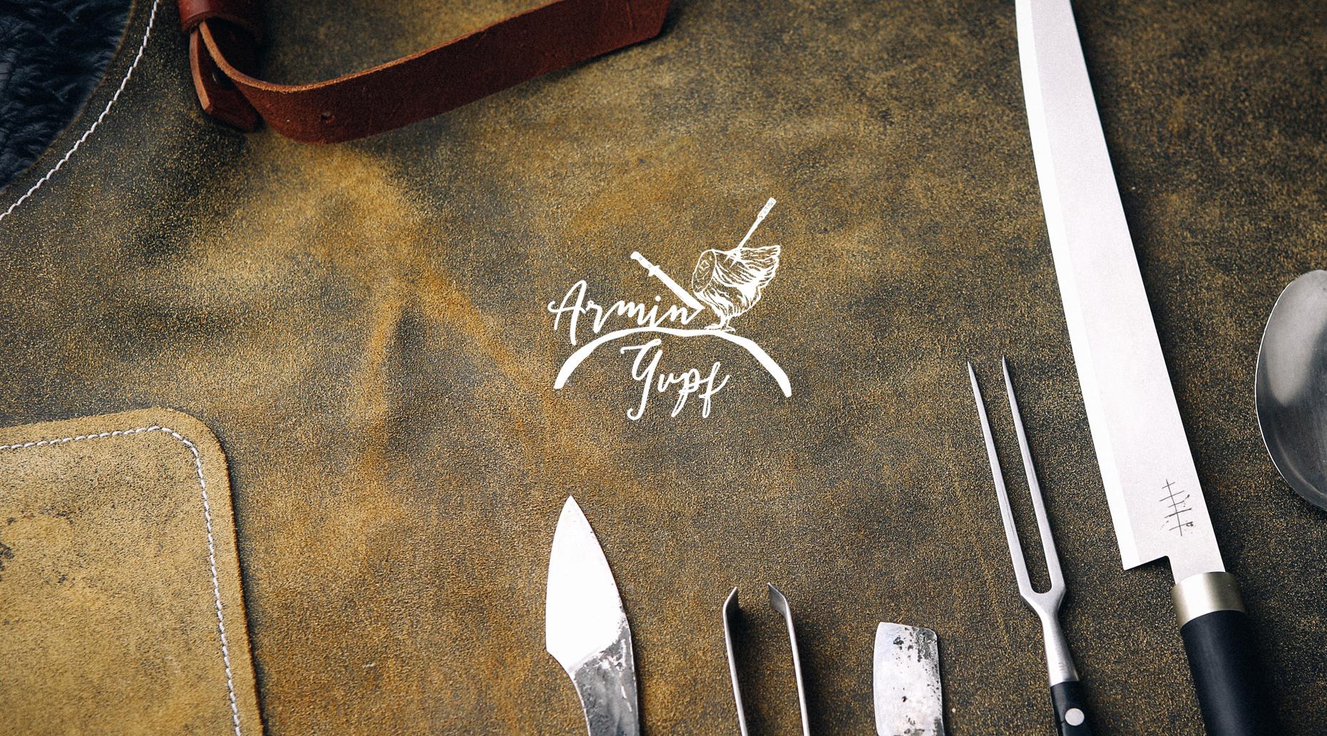 Logogestaltung für den Haubenkoch des Schlosshotels Velden