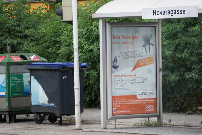 Citylights in Linz (in Kooperation mit der Linz Ag)